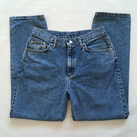 ac34b90d Lee Jeans | Vintage High Rise Retro Mom Jean Blue Denim 14 | Poshmark